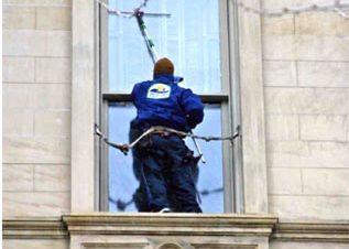 Commercial and High Rise window cleaning Historic sites Lansing and Mid Michigan