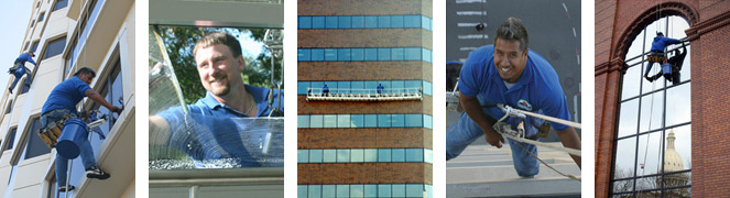 Lansing Office Building Window Cleaning