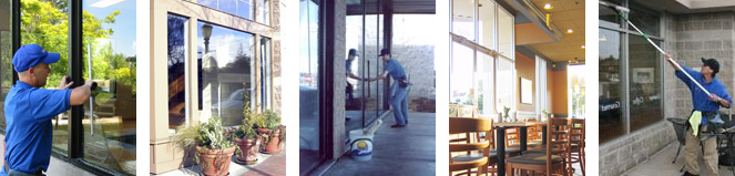 Storefront and commercial window washing in Lansing Michigan