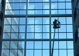 Commercial and High rise office park window cleaning Lansing and Mid-Michigan