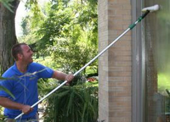 Professional trusted residential window washing