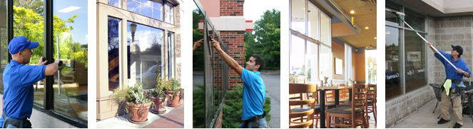 Storefront, Retail and Restaurant Window Cleaning Service