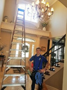 chandelier Cleaning in Lansing