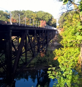 Grand Ledge Train Bridge