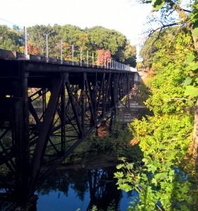 Grand Ledge Train Bridge