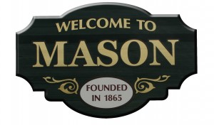 Mason Michigan Sign